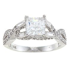 @Overstock - Alyssa Jewels 14k White Gold 2 1/2ct TGW Clear Cubic Zirconia Engagement-style Ring - Clear cubic zirconia engagement-style ring14-karat white gold jewelryClick here for ring sizing guide  http://www.overstock.com/Jewelry-Watches/Alyssa-Jewels-14k-White-Gold-2-1-2ct-TGW-Clear-Cubic-Zirconia-Engagement-style-Ring/6813975/product.html?CID=214117 $313.99