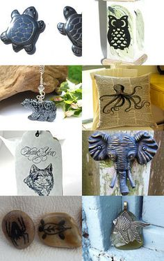 Lion, Tigers, Bears, and a whole lot more creative wildlife -- oh my! by Lydia on Etsy--Pinned with TreasuryPin.com