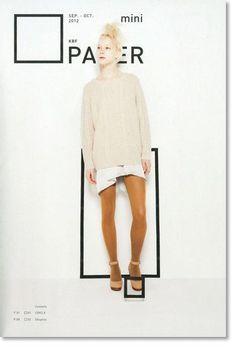 KBF PAPER mini    作為UR旗下品牌KBF登場的「KBF PAPER mini」,是具有独特世界観的概念別冊。鎖定当季主題「COLOR LINK」,特別邀請曾於「GINZA」10月号封面亮相的個性美模Sam Ypma擔当表紙人物,少女体感十足。(via 下北沢世代)