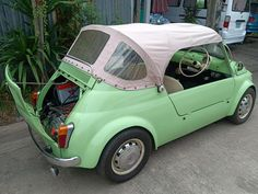 Fiat 500 Cabrio, Morris Minor, Subaru, Cars, Mini, Autos, Car, Automobile, Trucks