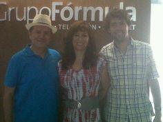 Rafael Savedra (Dir. Gral FIANCEE), Anny Hurtado (Dir. Gral Mujer Natural) y Chef Manuel Salcido!!! 7/Jul/12 buena vibra!!!  Programa de Radio Mujer Natural Radio Formula Guadalajara