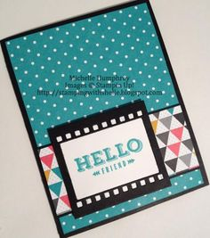 Hello Friend -- FMS118 by stampingshelle - Cards and Paper Crafts at Splitcoaststampers