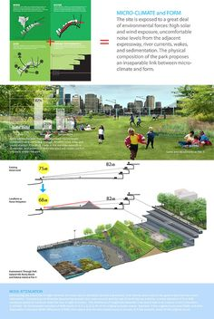The ideal green expanding would be considered a developing venture that will enable you to preserve a lot of the organic environment around. Landscape Diagram, Landscape And Urbanism, Urban Landscape, Landscape Design, Concept Architecture, Green Architecture, Building Architecture, Sustainable Transport, Urban Fabric