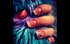 Cute spring  summer nails