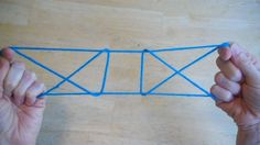 Open the Gate string figure - step by step EASY! #stringgames #games #kids