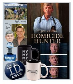 """""""Lt. Joe Kenda"""" by bb60477 ❤ liked on Polyvore featuring art"""