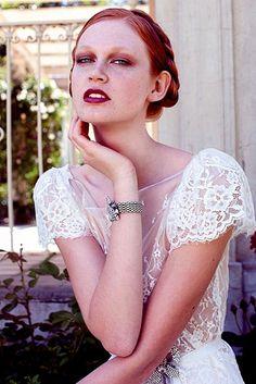 KAREN WILLIS HOLMES - Wedding dress - Emily Blouse