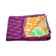 Vintage Kantha Quilt now featured on Fab.