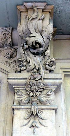 ⌖ Architectural Adornments ⌖ ornate building details - Barcelona