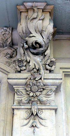 ⌖ Architectural Adornments ⌖ ornate building details - Barcelona