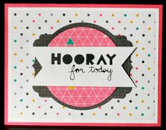 Klompen Stampers (Stampin' Up! Demonstrator Jackie Bolhuis): Geometrical: Day 2
