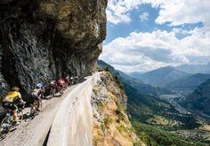 A 103ª edição do Tour de France vai ter disputas de alta montanha nos Alpes - Foto - Tour de France/Divulgação