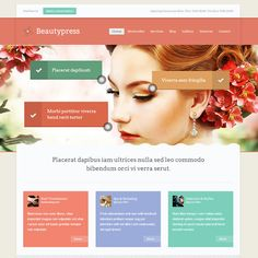 Beautypress WordPress Theme by Themes Kingdom on Behance