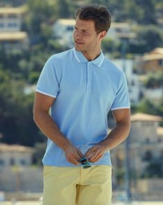 Fruit of the Loom: Tipped Polo_556.01