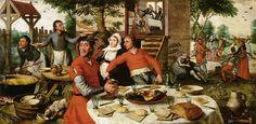 Pieter Aertsen - Peasant feast