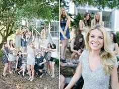I WANT A GLITTER THEME BACHELORETTE PARTY!   Amandas Isle of Palms Glitter Bachelorette | Paige Winn Photo