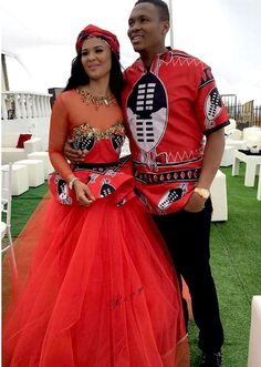Soccer star Kagisho Dikgacoi gets hitched in secret traditional wedding with Carina Mckechnie- Sowetan LIVE//in swaziland!Carina Mckechnie//Date et lieu de naissance : Swaziland African Wedding Attire, African Attire, African Wear, African Women, African Outfits, African Weddings, Xhosa Attire, African Traditional Wedding Dress, Traditional Wedding Attire