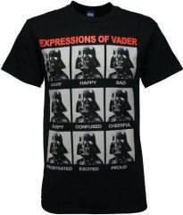 'Expressions of Vader' T-Shirt