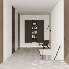 Hallway #hallway #modernhallway #minimalistichallway #minimalism #minimalisticarchitecture #minimalisticinterior #architecture #modernarchitecture #design #moderndesign #ideasforhallway Modern Hallway, Minimalist Interior, Modern Architecture, Minimalism, Modern Design, House, Home, Contemporary Design, Modernism