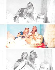 I want pictures like this with my mom on my wedding day!