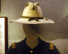 For those of you who believe John Ford knew anything about US Army uniforms during the Indian Wars, here is what the museum contends is an unauthorized officer's hat that was worn on the frontier. Description from curtrich.com. I searched for this on bing.com/images