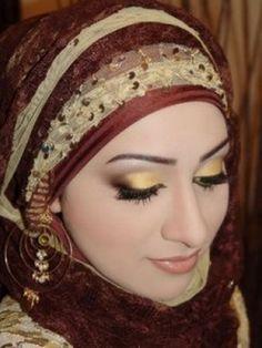 Beautiful Muslim Girl in Scarf
