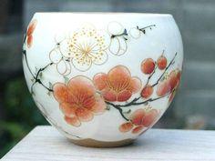 お茶呑み茶碗 陶あん Kiyomizu Ware tea bowl
