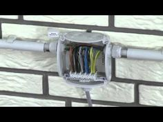 BTicino Flatwall Installation Guide - YouTube
