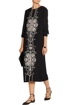 Shop on-sale DAY Birger et Mikkelsen Embroidered crepe dress. Browse other discount designer Dresses & more on The Most Fashionable Fashion Outlet, THE OUTNET.COM