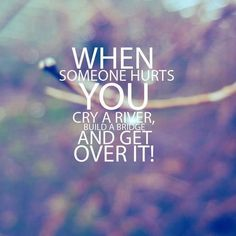 I have been trying to do this but it's very exhausting. So yesterday I asked God for hope and He dropped it into my spirit. Today I have hope and less tears. In my tommarrows I can have less tears and remain in my hope, until I've forgotten about the hurt and I have victory over those tears I shed.