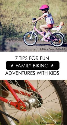 7 Tips for FUN Family Biking Adventures with Kids *love tip #6