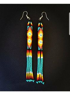 Beautiful tubular earrings Perfect for any occasion 1 cm width 4.75 inches long plus hook
