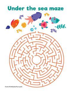 Under The Sea Maze
