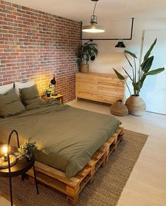 Hi there Loving all the warm essentials in this simple and sweet bedroom of - Room Design Bedroom, Room Ideas Bedroom, Home Decor Bedroom, Budget Home Decorating, Diy Decorating, Cozy Room, Aesthetic Bedroom, Dream Rooms, New Room