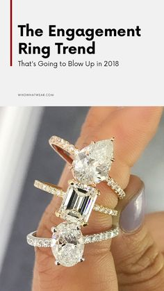 2018 engagement ring trends to have on your radar