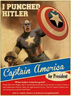 Captain America for President!