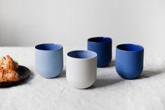Mugg Keramik De Intuitiefabriek #oglaserad #glaseradmugg #porslin Tableware, Dinnerware, Tablewares, Place Settings