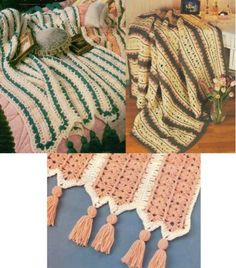 Mile-a-Minute Afghans Crochet Pattern