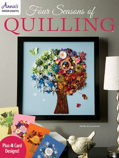 Four Seasons of Quilling from Annie's Craft Store. Order here: https://www.anniescatalog.com/detail.html?prod_id=126578