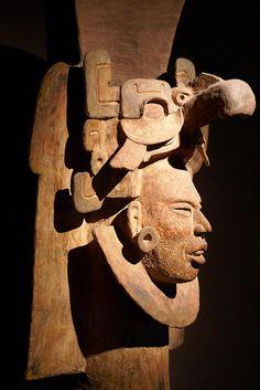 Escultura Olmeca.