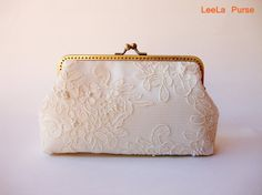 clutch for the bride.