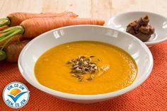 I z klasické mrkvové polévky vykouzlí pasta miso výraznou chuť a hlavně dodá polévce enzymy, vitamíny a minerály, které na jaře posílí naši imunitu a dodají potřebnou energii.