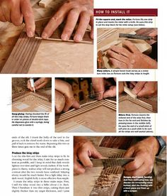 String Inlay Techniques - Finishing and Decoration