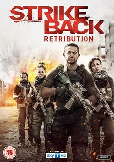 Strike Back – Complete Season 6 – Retribution Sci Fi Movies, Top Movies, Great Movies, Movies To Watch, Movie Tv, Movies Free, Strike Back Tv Series, Famous Dialogues, Hollywood Poster