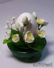 Яйца с цветами из Х\Ф