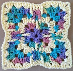 Glass Menagerie Crochet Dishcloth – Maggie Weldon Maggies Crochet