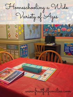 Homeschooling a Wide Variety of Ages - My Joy-Filled Life