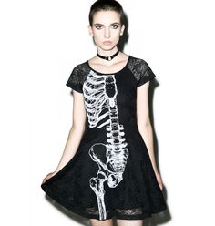 Iron Fist Wishbone Lace Dress  #TCFxSocietyPlus
