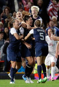 They Rock !  Congrats US Women on winning the GOLD and Carli Lloyd scoring both points! Advocare builds champions!