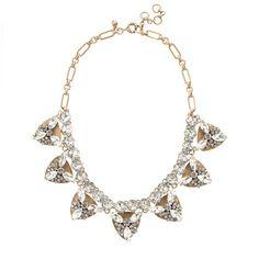 J.Crew - Jeweled triangle necklace